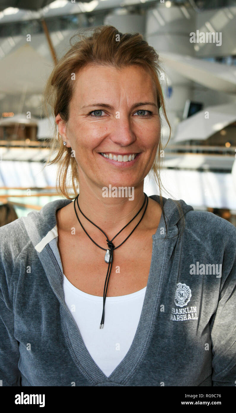 CATRIN NILSMARK former Swedish professional golfer - Stock Image