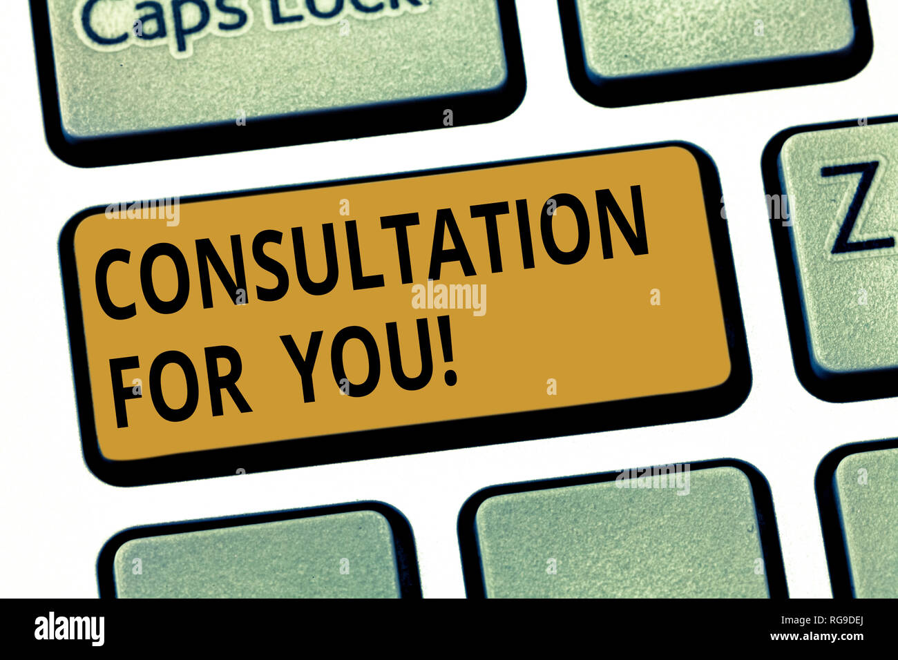 Word writing text Consultation For You  Business concept for