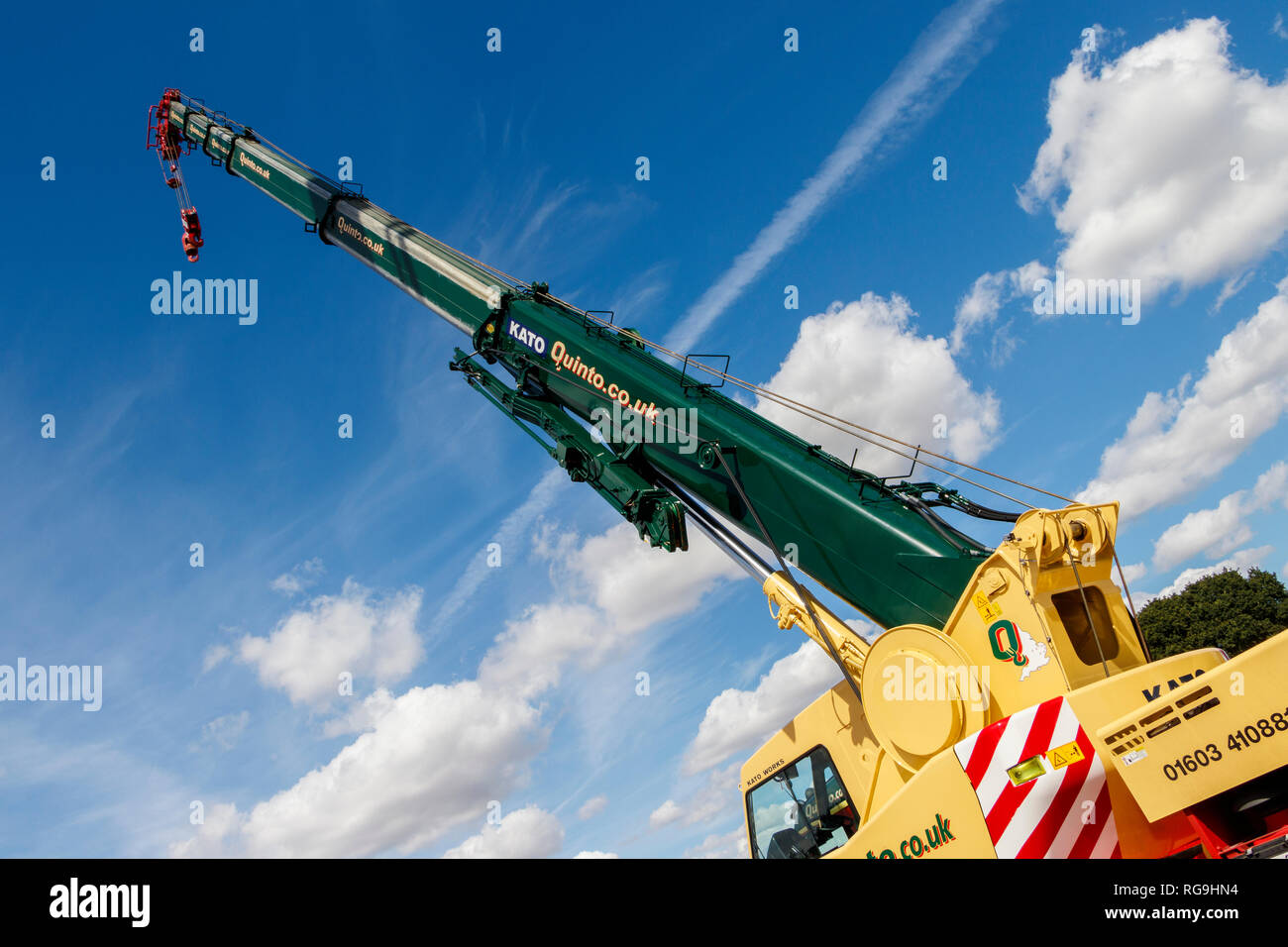 Extended Crane Stock Photos & Extended Crane Stock Images