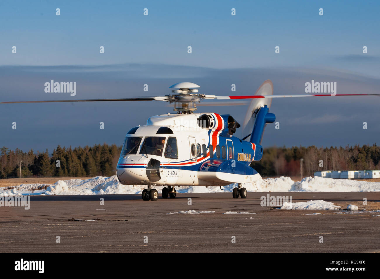 Cougar Helicopters Stock Photos Cougar Helicopters Stock Images