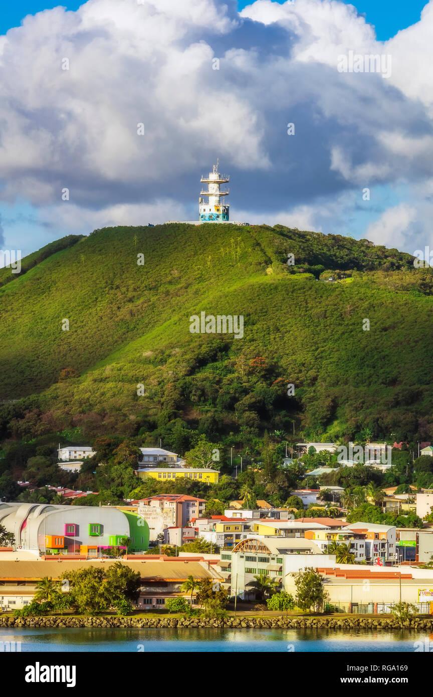 New Caledonia, Noumea, cityview - Stock Image