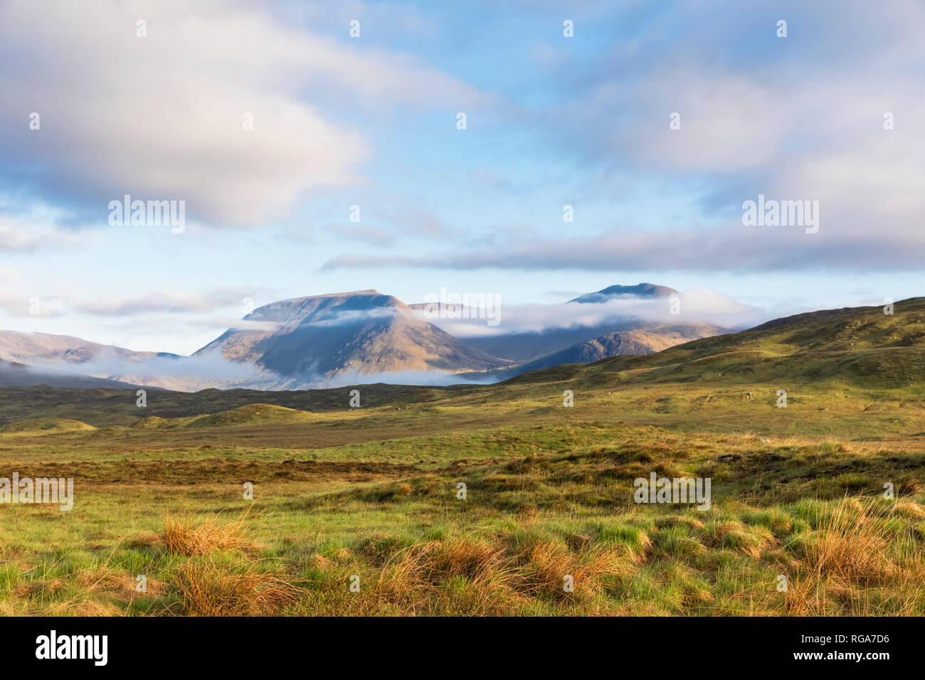 Great Britain, Scotland, Scottish Highlands, Glencoe, near by Loch Tulla - Stock Image