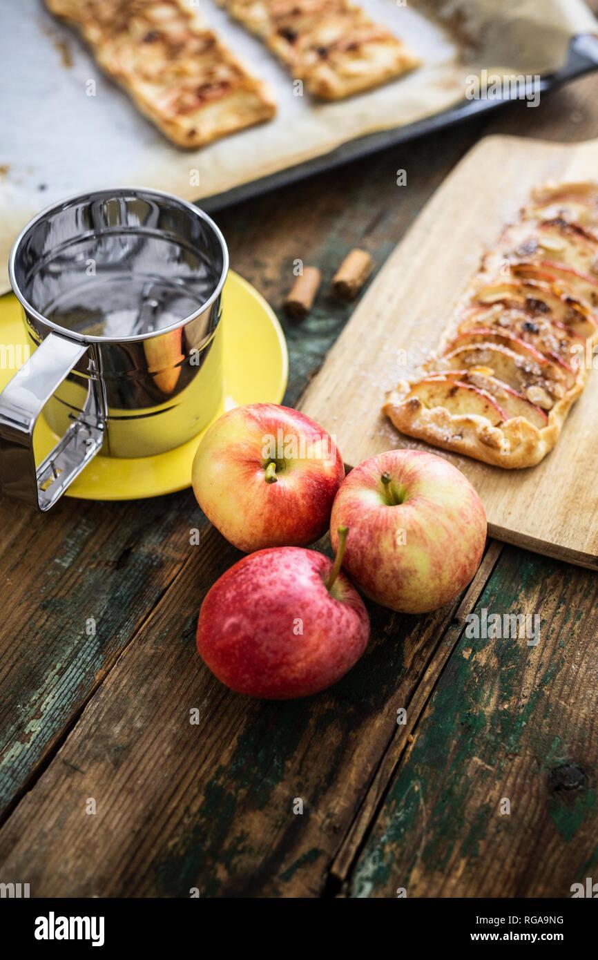 Preparing Apple Pie Stock Photo 233796460 Alamy