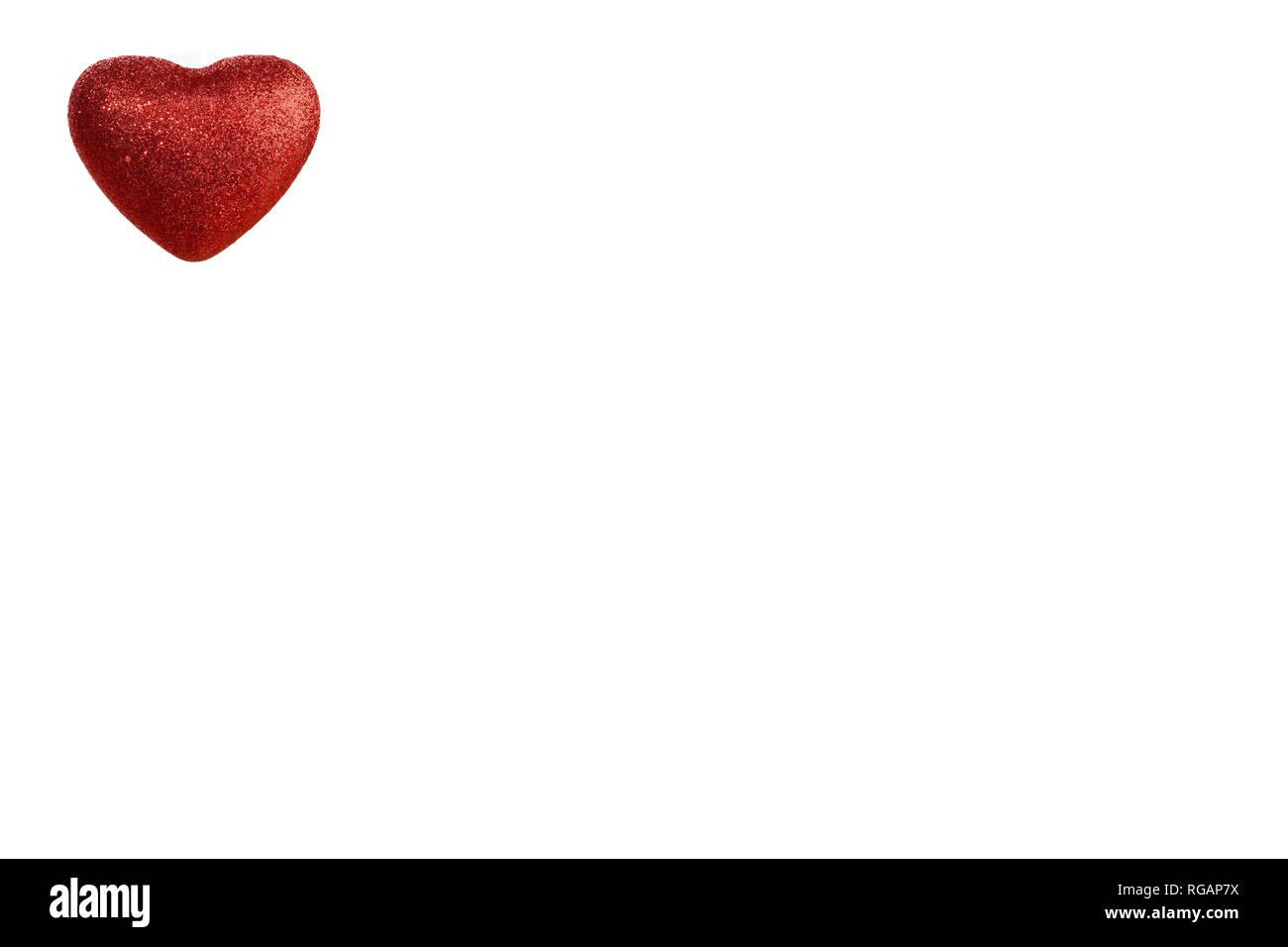 Christmas heart, for love Stock Photo