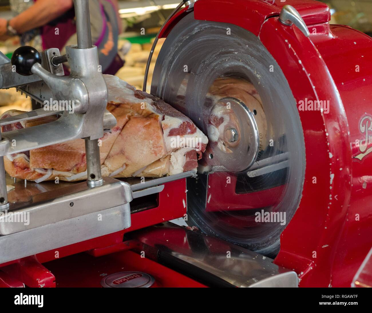 Meat Slicer Stock Photos & Meat Slicer Stock Images - Alamy