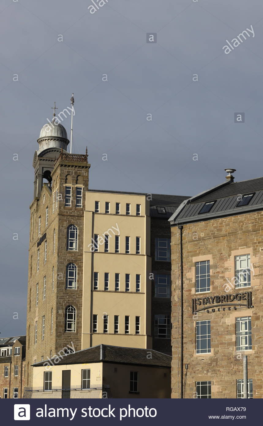 Hotel Indigo and Staybridge Suites Dundee Scotland  June 2018 - Stock Image