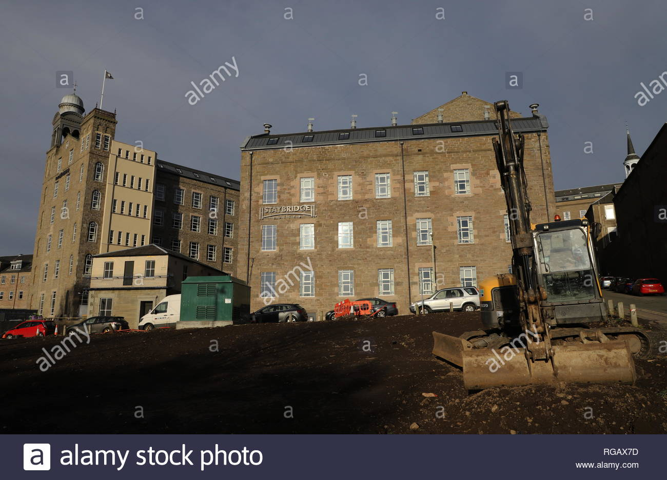 Hotel Indigo and Staybridge Suites Dundee Scotland  January 2019 - Stock Image