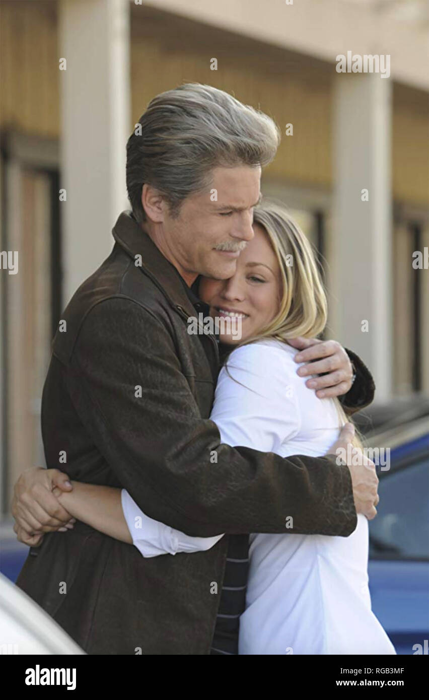 DREW PETERSON: UNTOUCHABLE 2012 Sony Television film with Rob Lowe and Kaley Cuoco Stock Photo