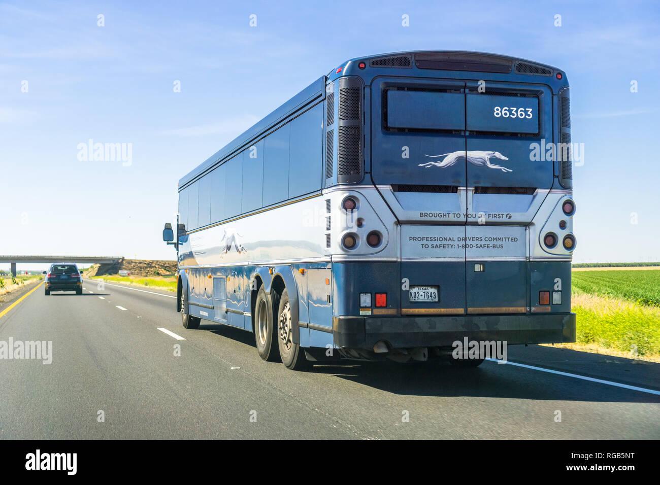 Greyhound Bus Stock Photos & Greyhound Bus Stock Images - Alamy