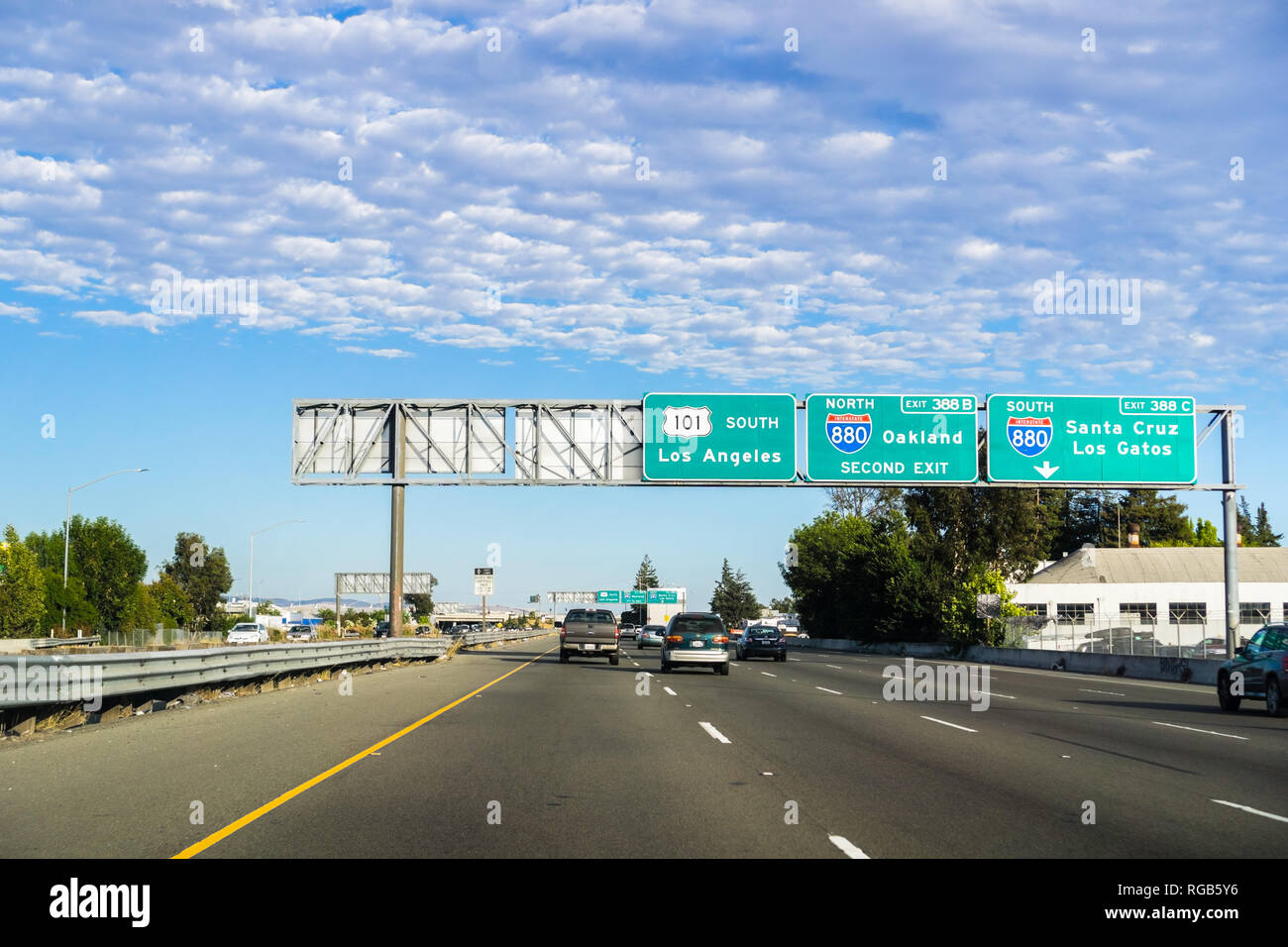 Interstate 880 Stock Photos & Interstate 880 Stock Images