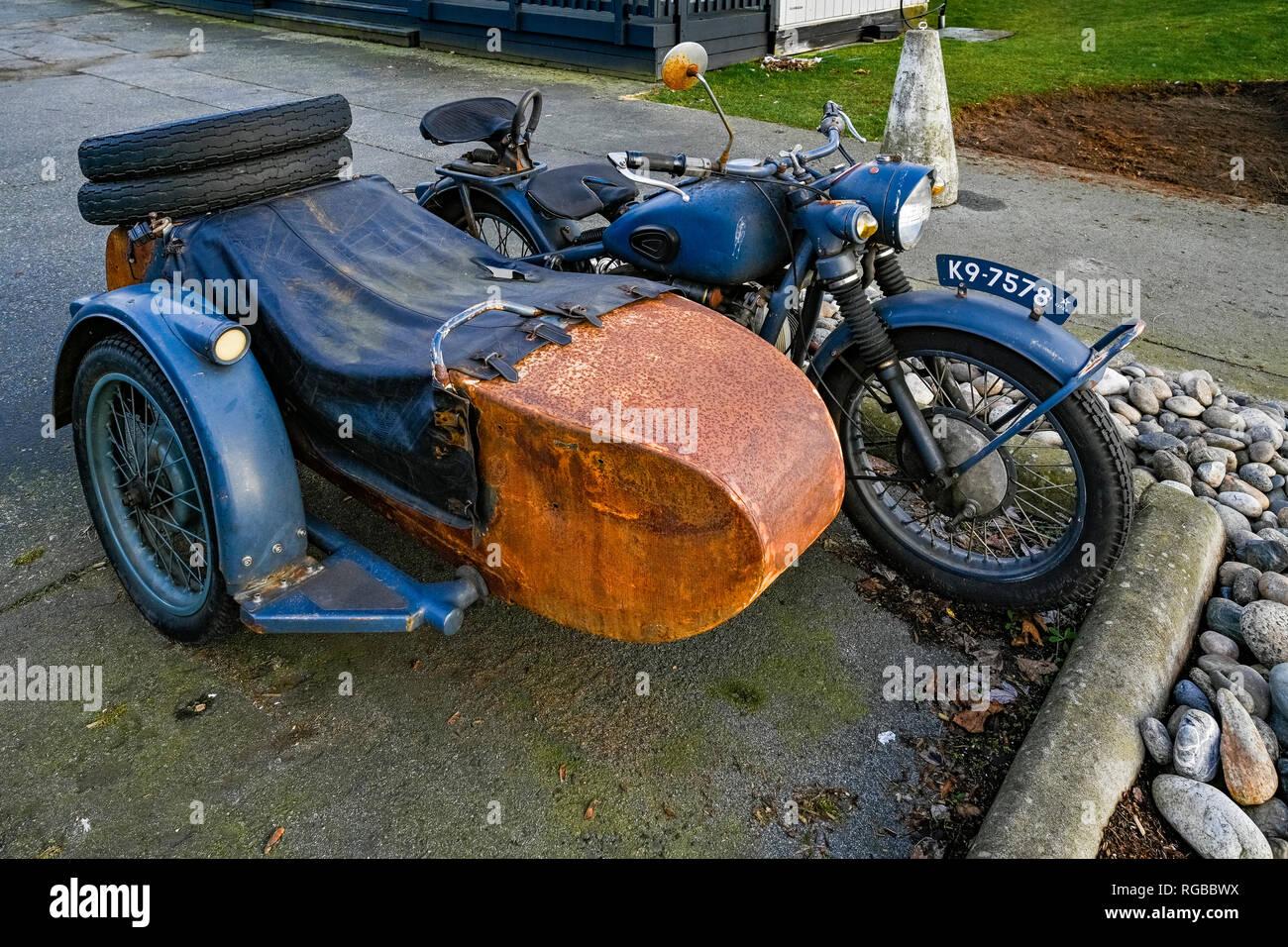 Kawasaki Motorcycle Stock Photos & Kawasaki Motorcycle Stock