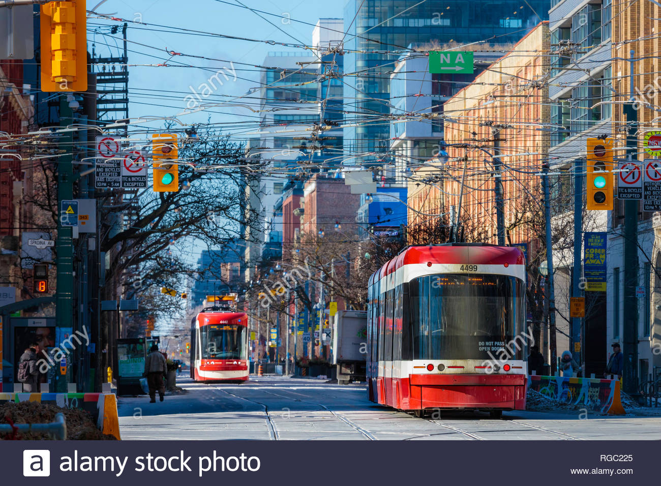 Toronto flexity outlook streetcar electric street railway on King