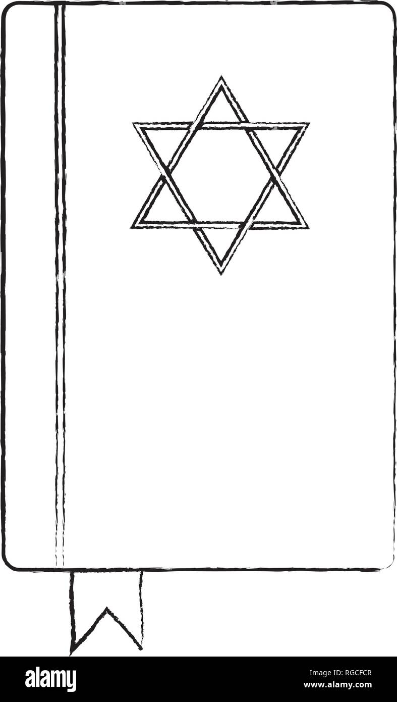 Jewish religion object - Stock Vector