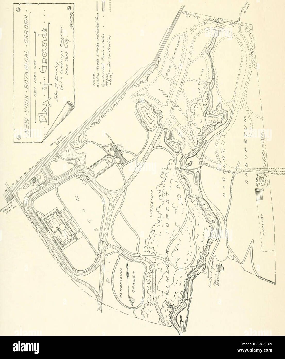 Map Of New York Botanical Garden.Y Map Stock Photos Y Map Stock Images Page 5 Alamy