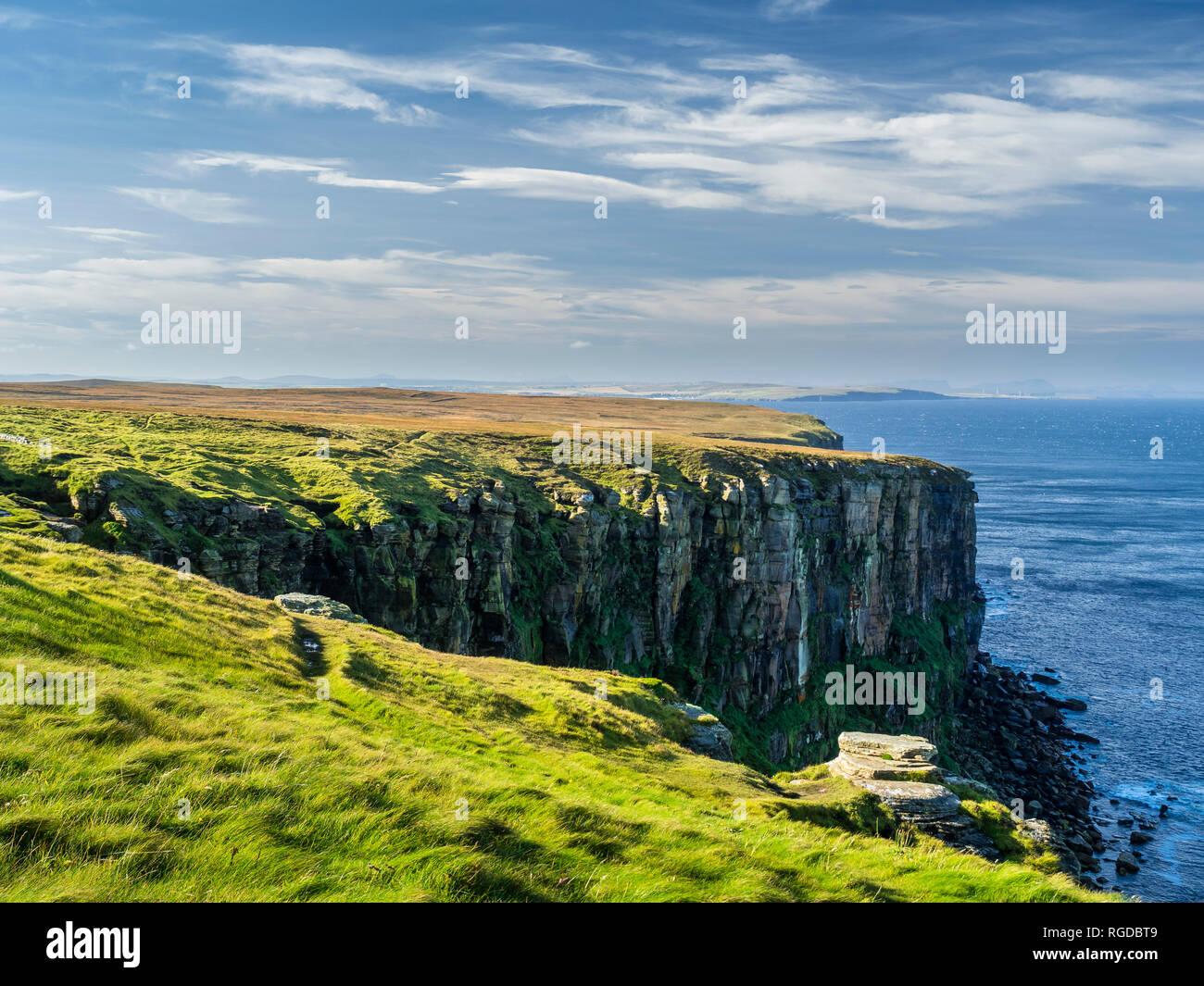 UK, Scotland, Highland, Southland, Dunnet Head - Stock Image