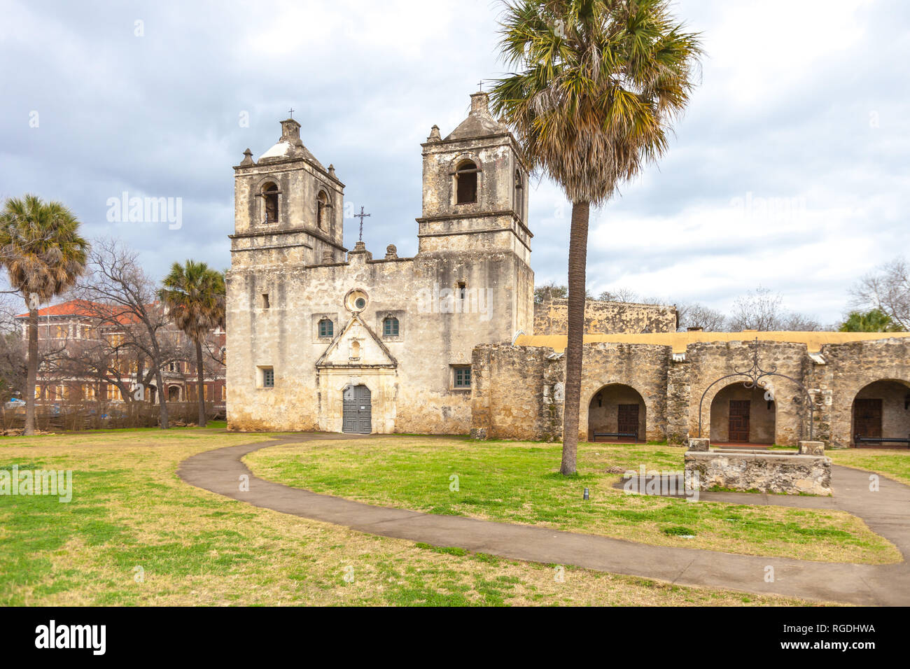 Mission Conception Entrance Example Of Spanish Colonial