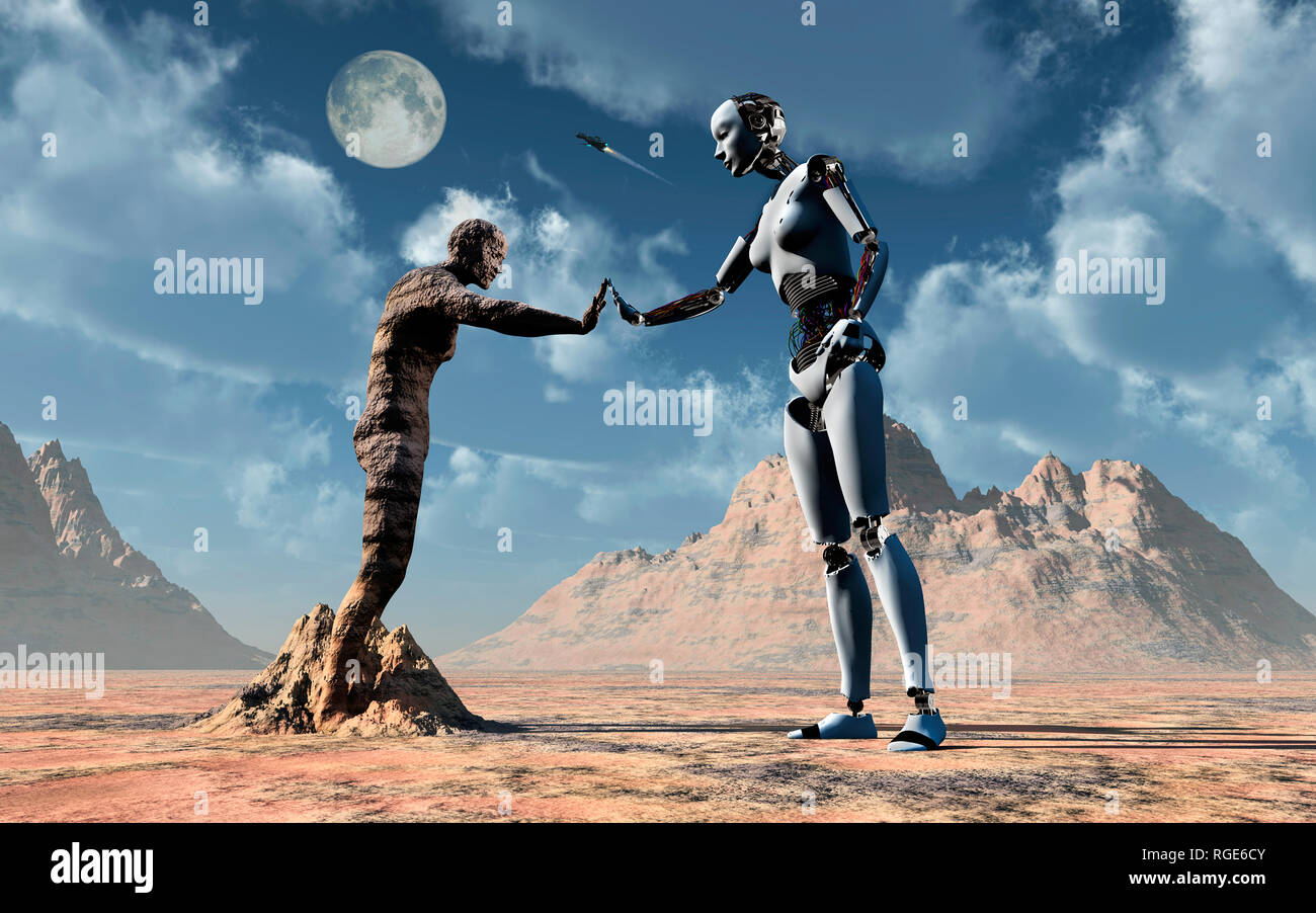 Adam & Eve - Stock Image