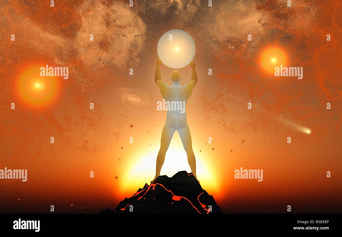 Star Maker - Stock Image