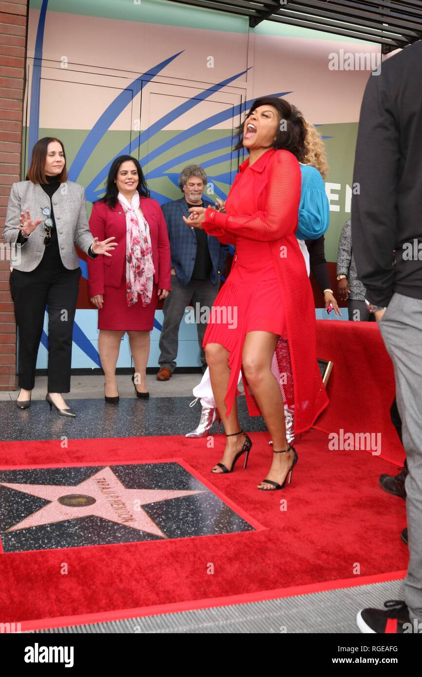 Mary J Blige, Taraji P Henson at the induction ceremony for Star on
