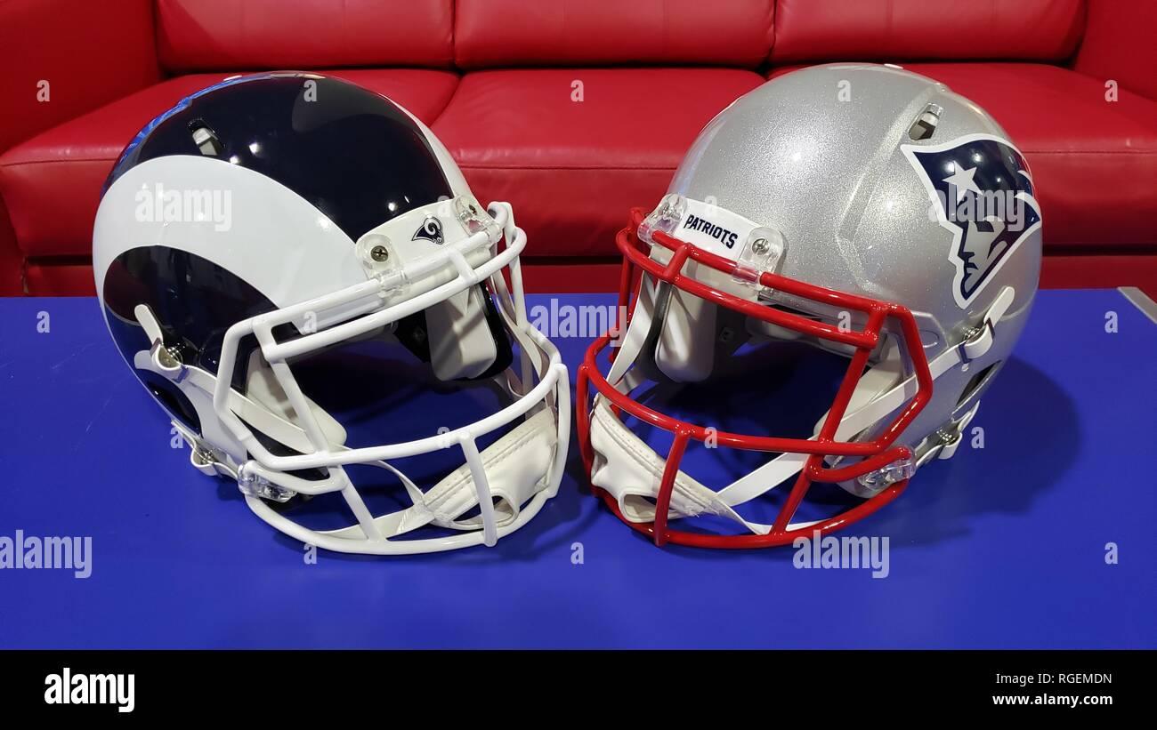 Atlanta, GA, USA  28th Jan, 2019  The NFL Experience with Jamal