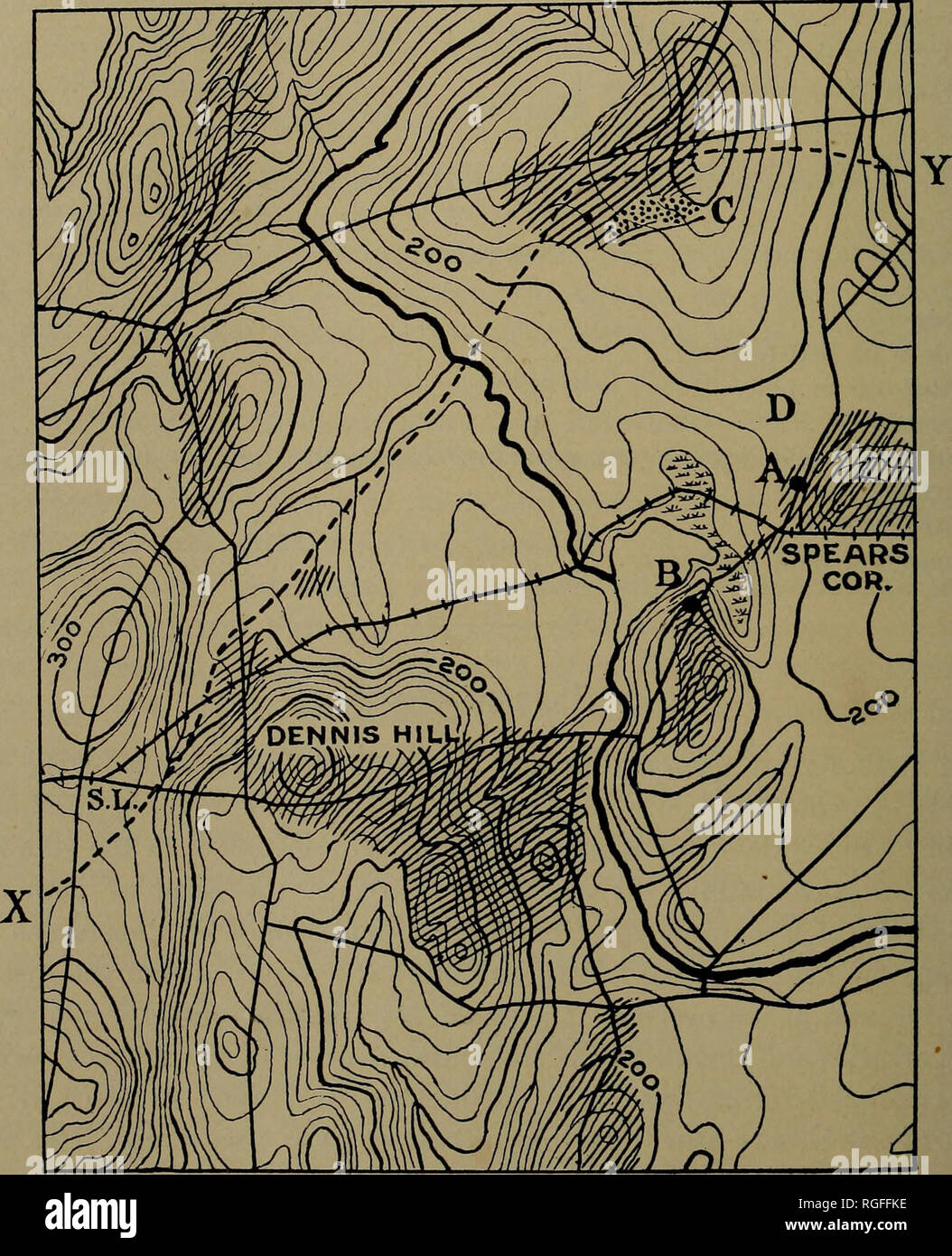 Litchfield Maine Map.Bulletin Of The Geological Society Of America Geology 464 R A
