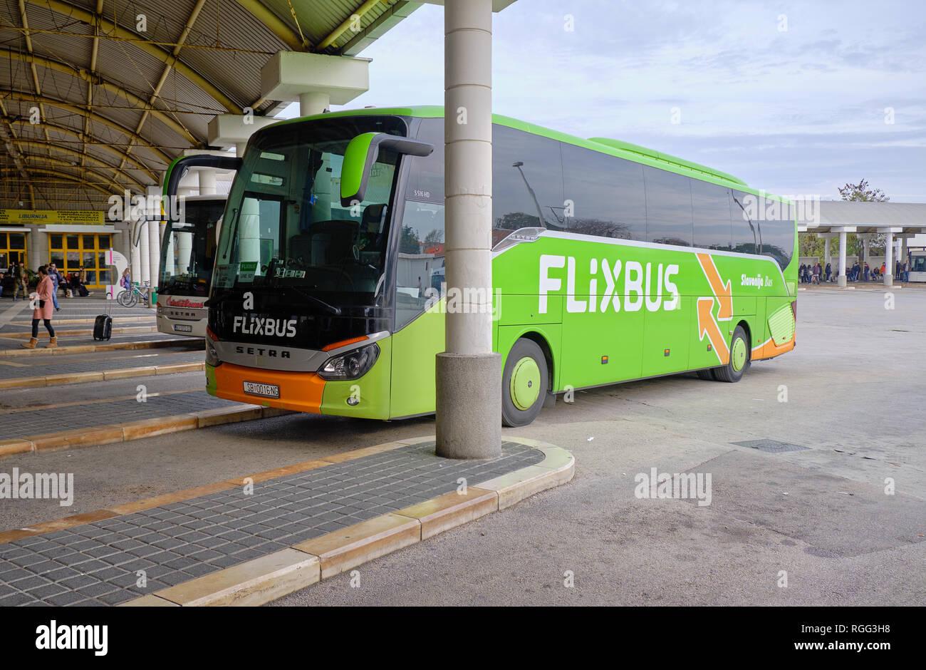 Zadar Autobus Od 9 Kn Flixbus Novi Nacin Putovanja