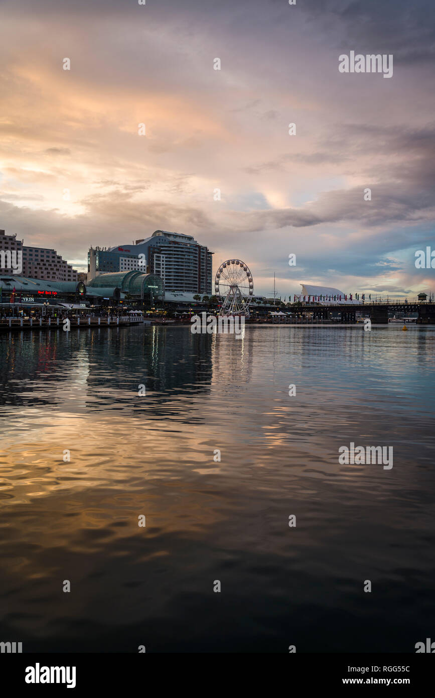 Darling Harbour, Sydney, NSW, Australia - Stock Image