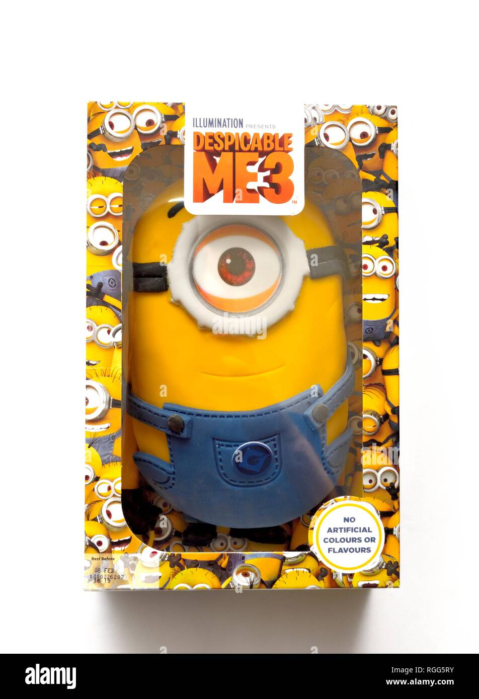 Fantastic Despicable Me 3 Birthday Cake Box Stock Photo 233925103 Alamy Funny Birthday Cards Online Inifofree Goldxyz