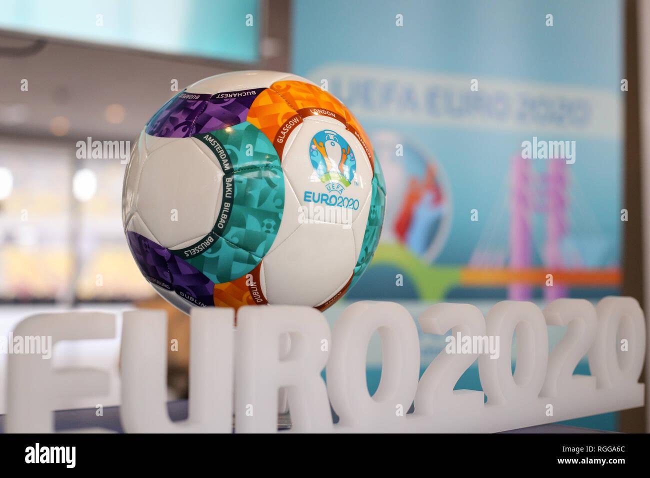 Euro 2020 Ball Stock Photos Euro 2020 Ball Stock Images