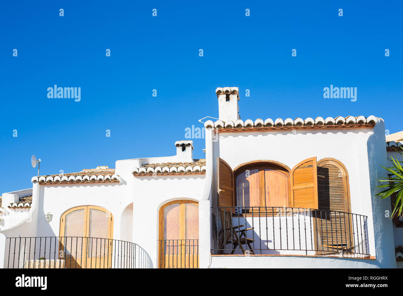 Design Architecture And Exterior Concept Modern Balconies Stock Photo Alamy