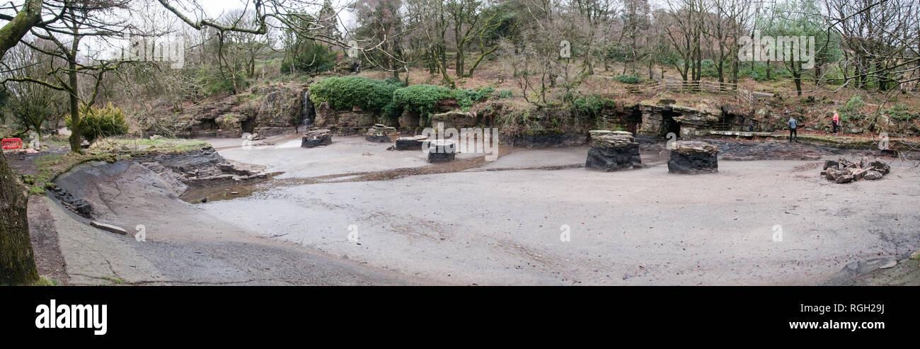 Rivington Gardens - Stock Image