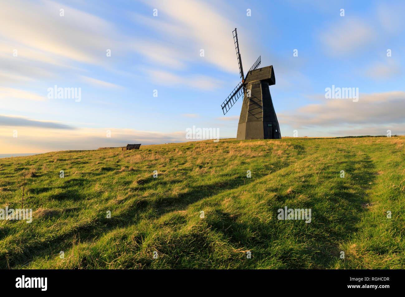 Rottingdean Windmill, near Brighton in Sussex. Stock Photo
