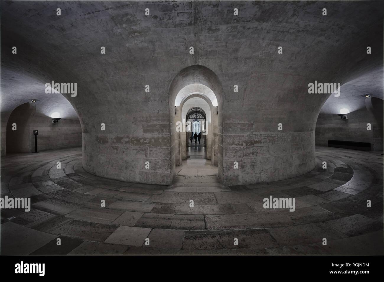 vault in pantheon paris Stock Photo