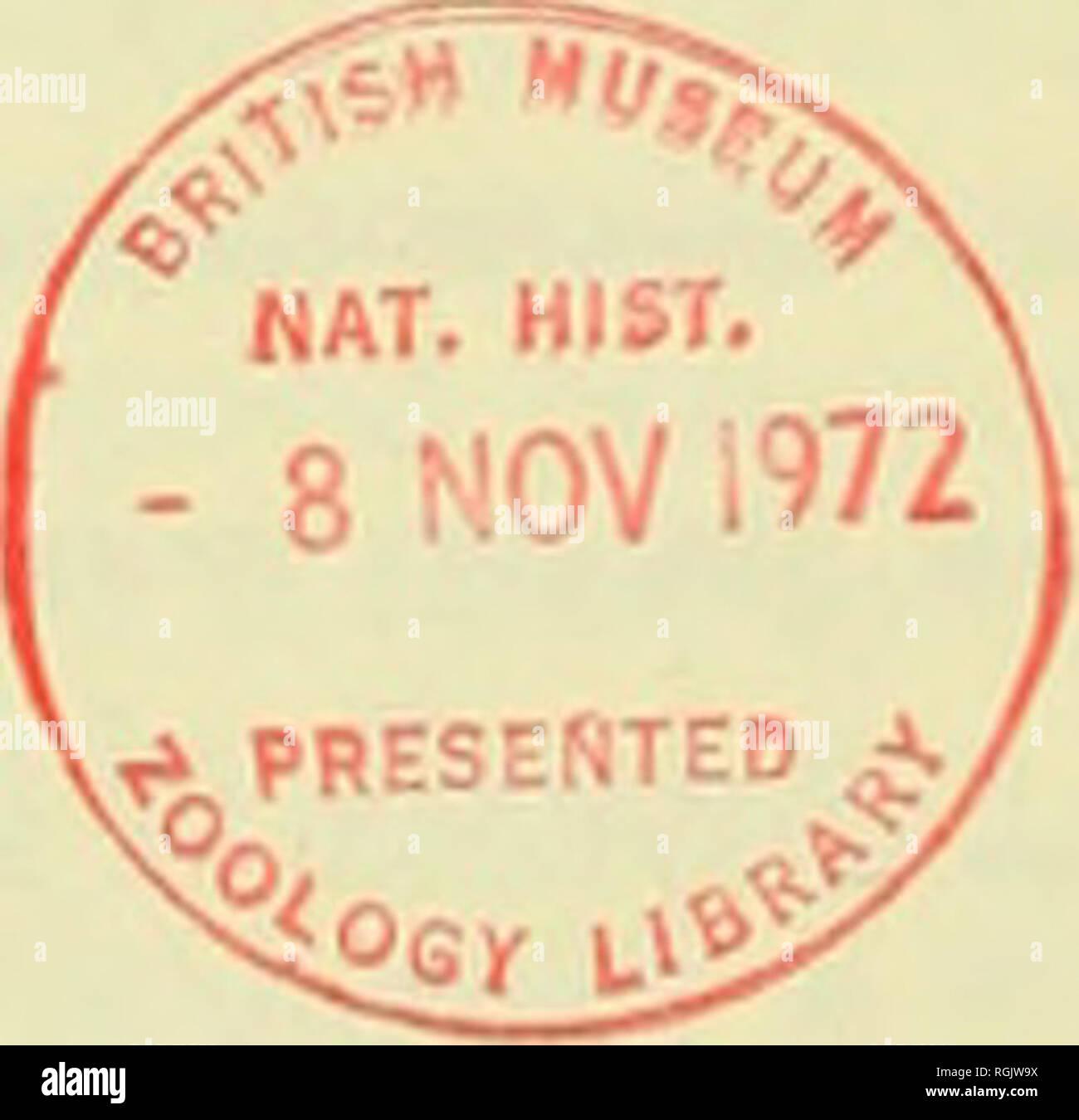 Bulletin of the British Museum (Natural History). 186 H. HOOGSTRAAL ...