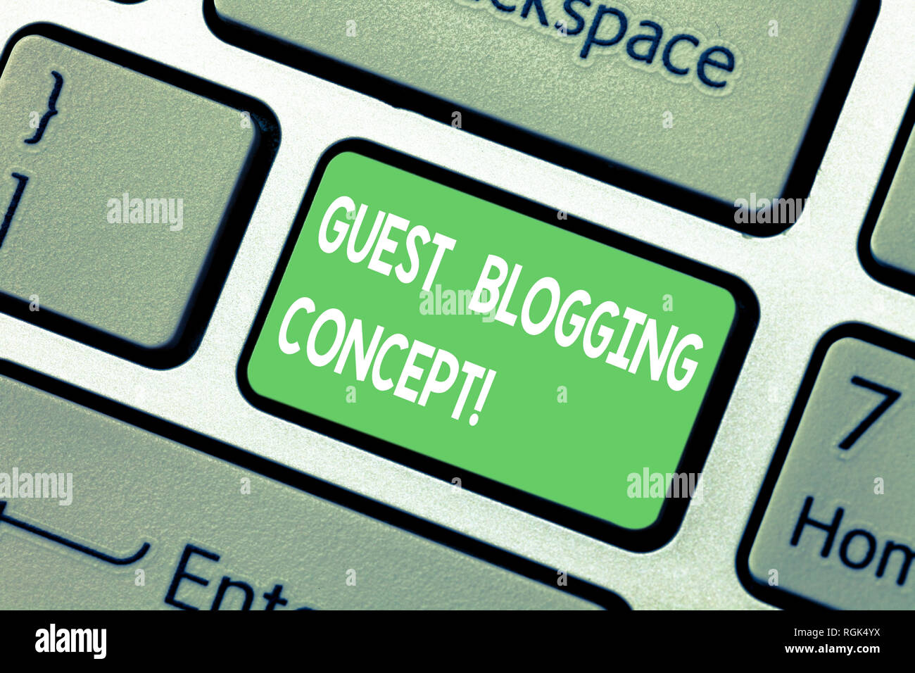 Word writing text Guest Blogging Concept  Business concept