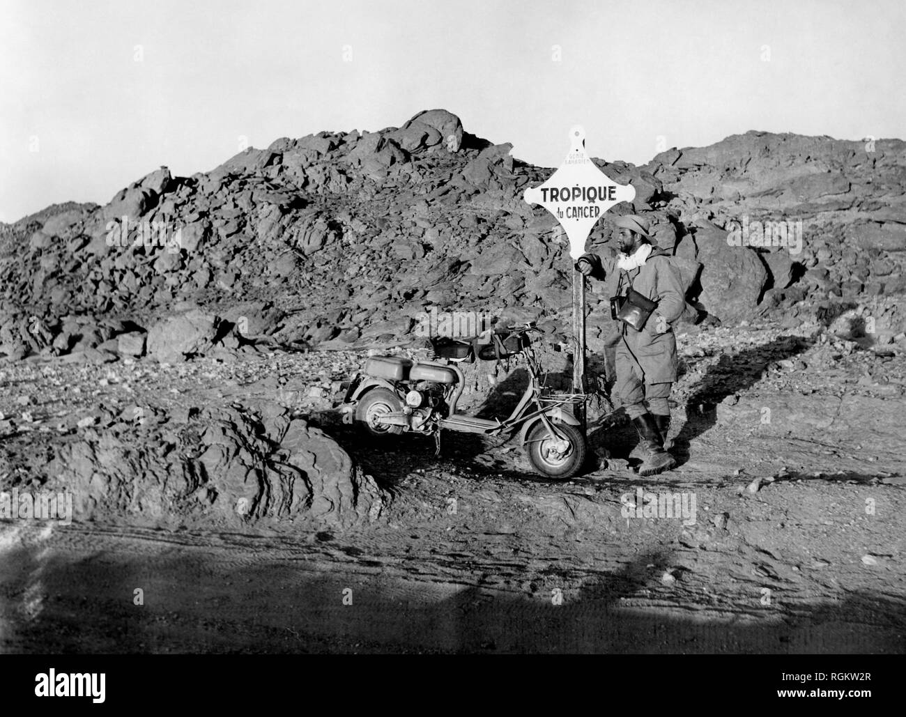 stop at the tropic of cancer, 1953 Stock Photo