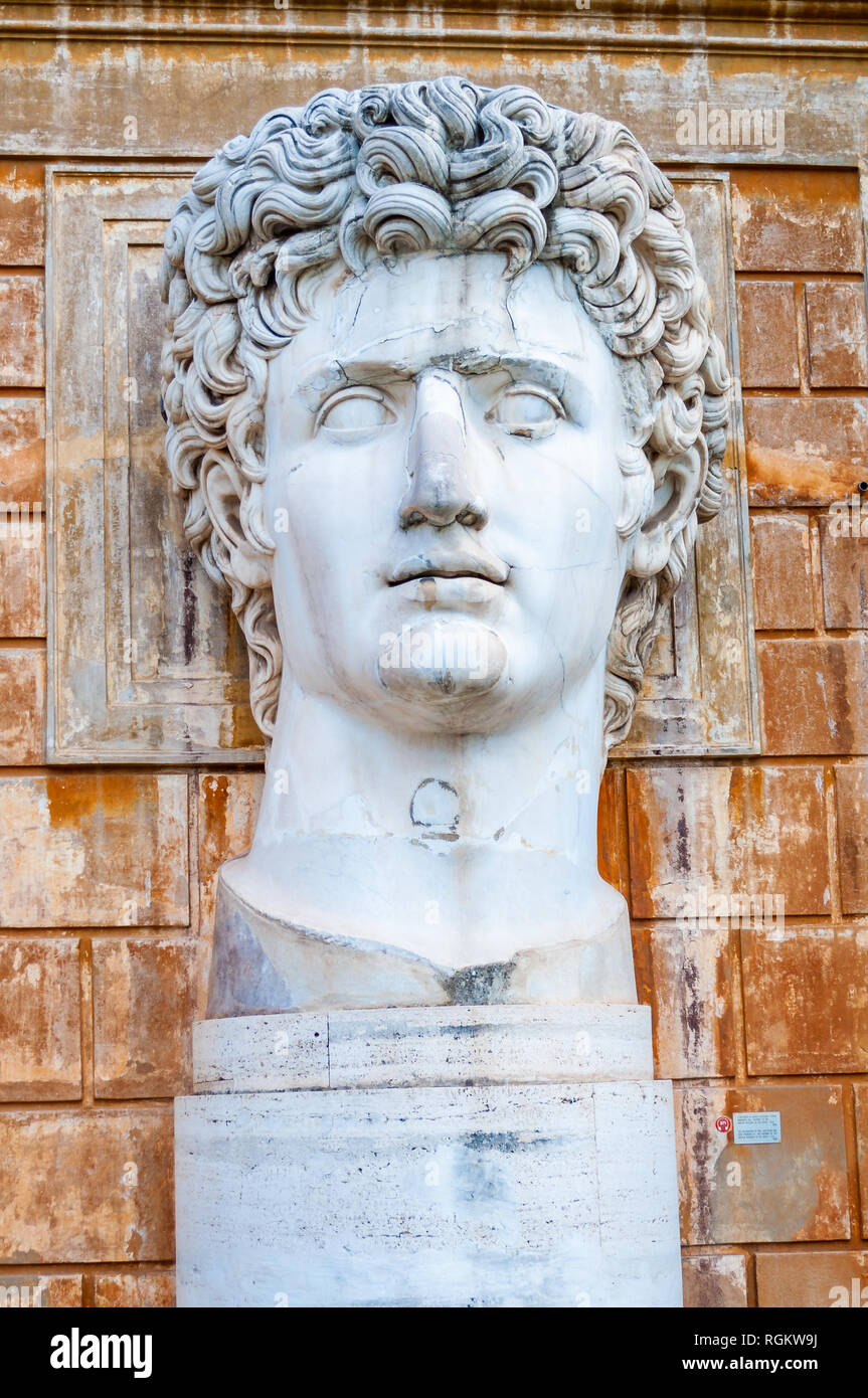 Augustus Statue Vatican Stock Photos Amp Augustus Statue
