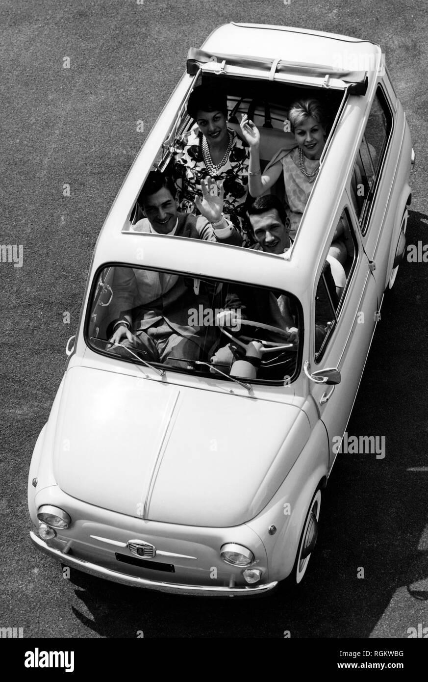 Fiat 500 Giardiniera 1960 Stock Photo 234006292 Alamy
