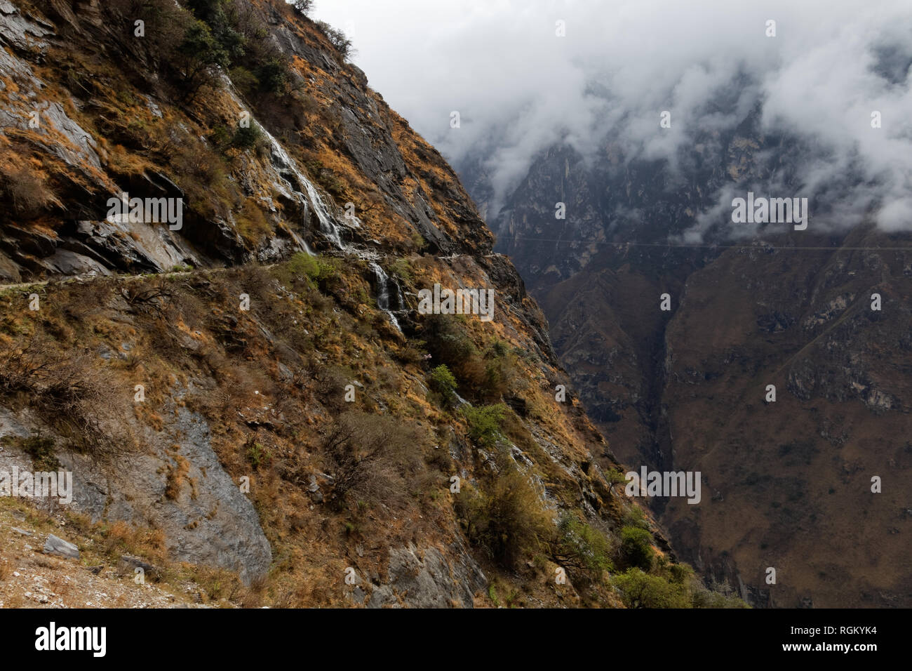 Leaping Tiger Gorge - Stock Image