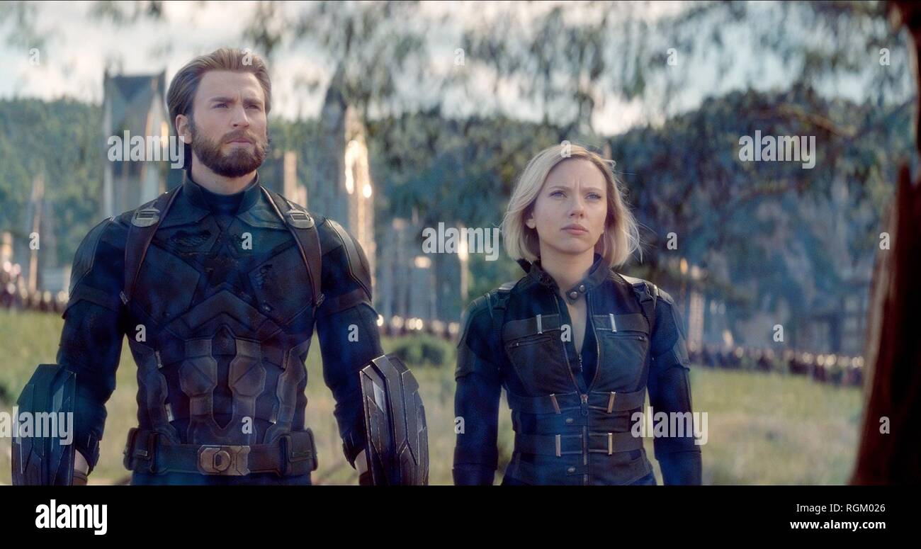 Black Widow Avengers High Resolution Stock Photography And Images Alamy