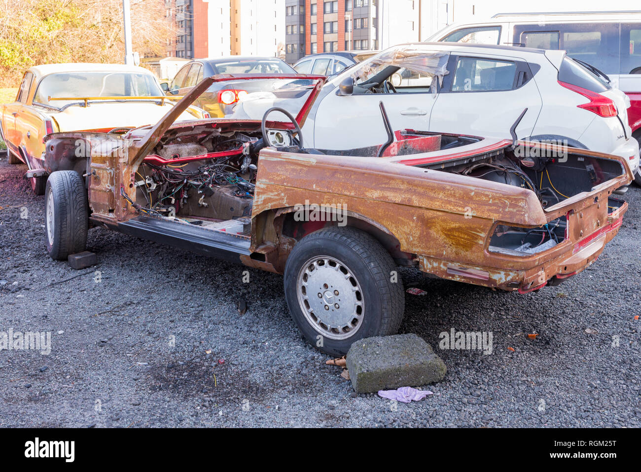 Car Body Shell Stock Photos & Car Body Shell Stock Images - Alamy