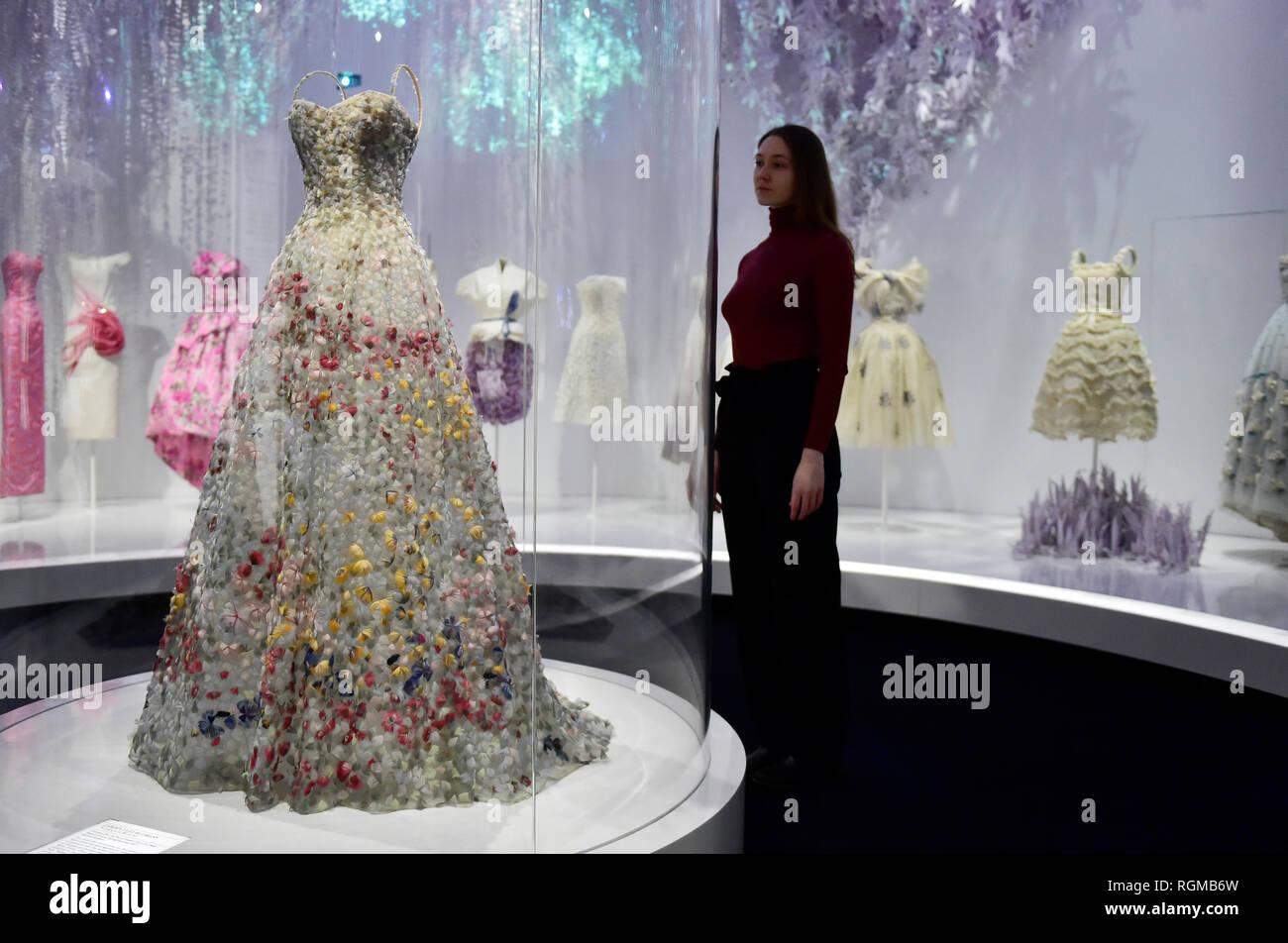 V&A, London, UK  30 January, 2019  Christian Dior, the