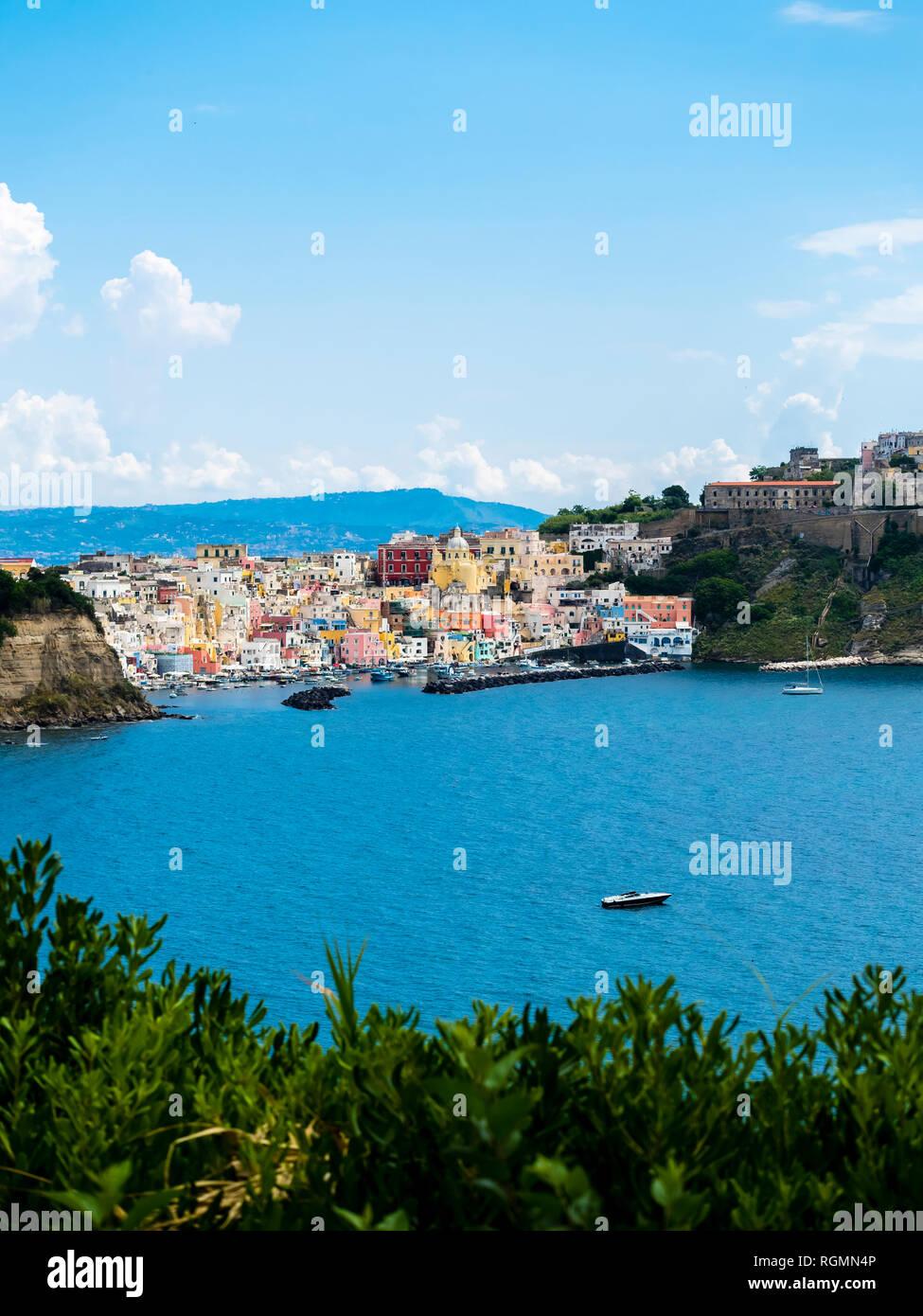 Italy, Campania, Gulf of Naples, Phlegraean Islands, Procida Island - Stock Image