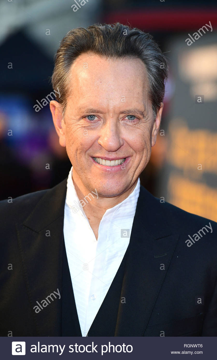 File photo dated 19/10/18 of Richard E. Grant, who has shared his tearful reaction after Barbra Streisand replied to a letter he sent 47 years ago. - Stock Image