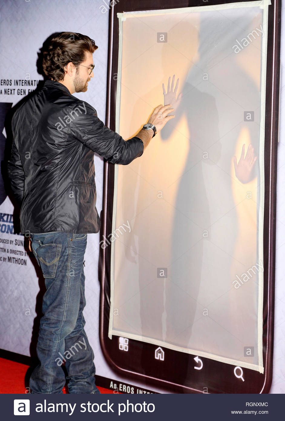 Bollywood actor Neil Nitin Mukesh during music and trailer launch of his horror film 3G in Mumbai, India on February 15, 2013. (Aakash Berde) Stock Photo