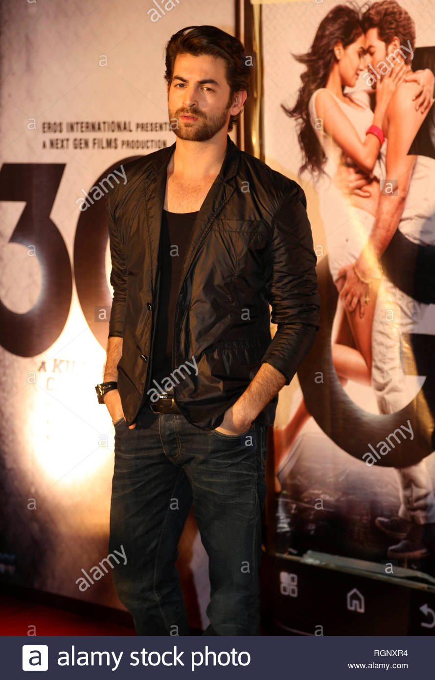 Bollywood actor Neil Nitin Mukesh during music and trailer launch of his horror film 3G in Mumbai, India on February 15, 2013. (Aakash Berde) - Stock Image