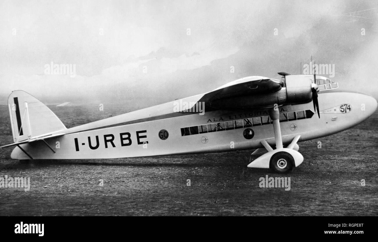 four-engined aircraft, 1934 - Stock Image