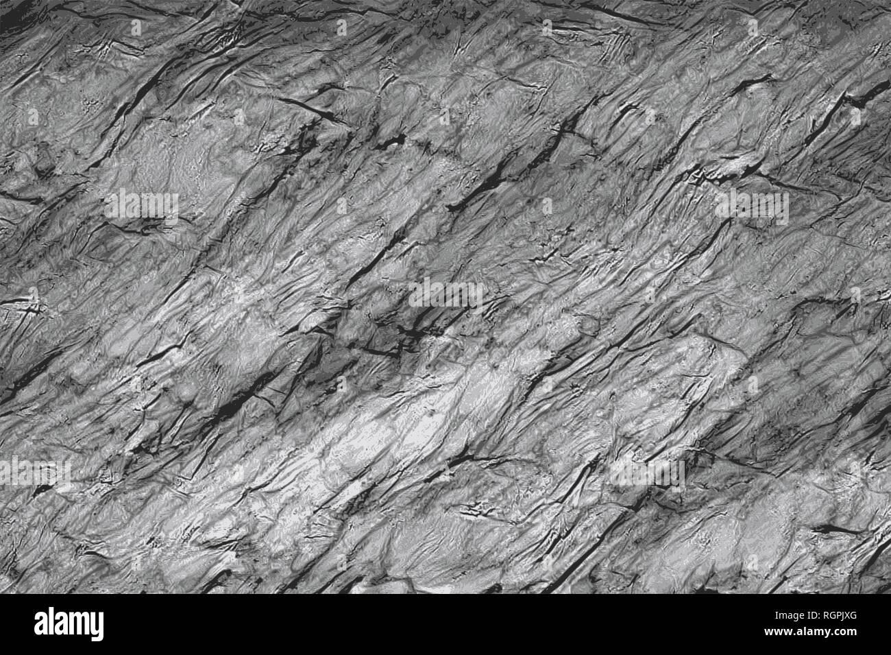 Ductile texture of thermoplastic foil aluminium or plastic - Stock Image