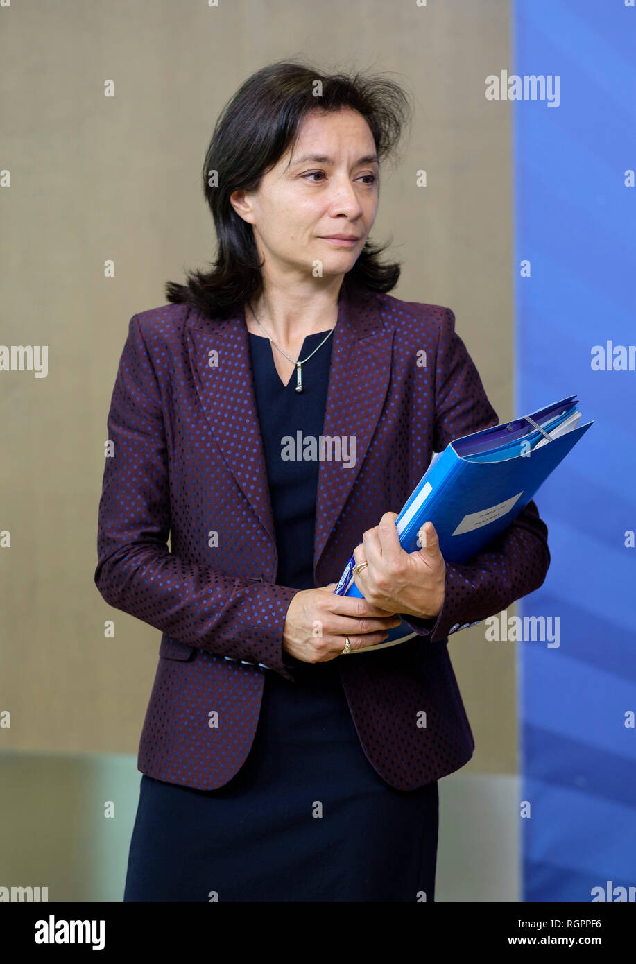 Belgium, Brussels, on 2018/10/15: Delphine Geny-Stephann, former Secretary of State to the Minister of the Economy and Finance - Stock Image