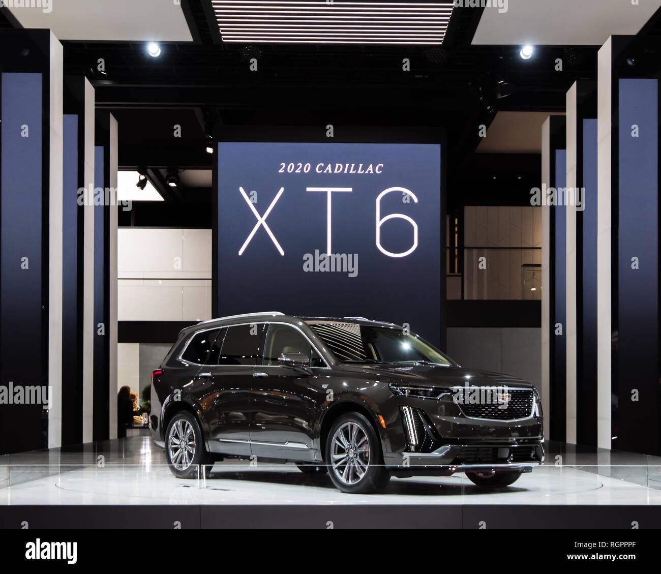 JANUARY 15, 2019: A 2020 Cadillac XT6